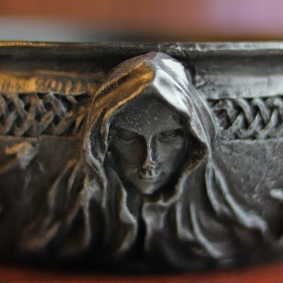 Maiden, Mother, Crone Scrying Bowl