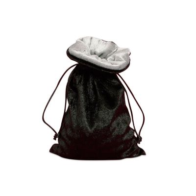 Black Velvet Lined Bag
