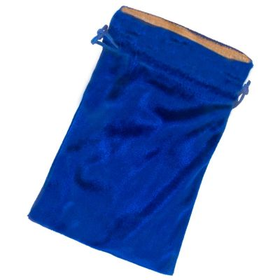 Blue Velvet Lined Bag