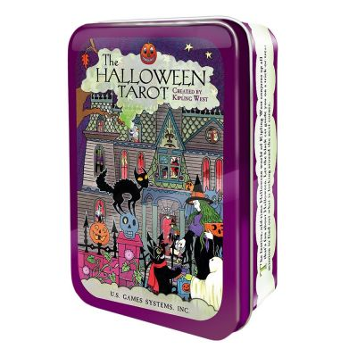 Halloween Tarot in Tin Box